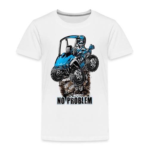 UTV SxS No Problem Blue - Toddler Premium T-Shirt