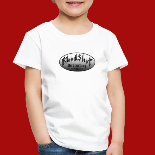 BloodShot Logo Black/White - Toddler Premium T-Shirt