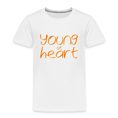 young at heart - Toddler Premium T-Shirt