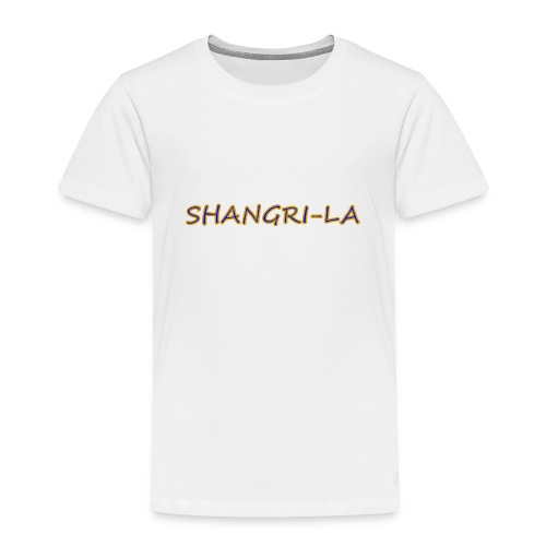Shangri La gold blue - Toddler Premium T-Shirt