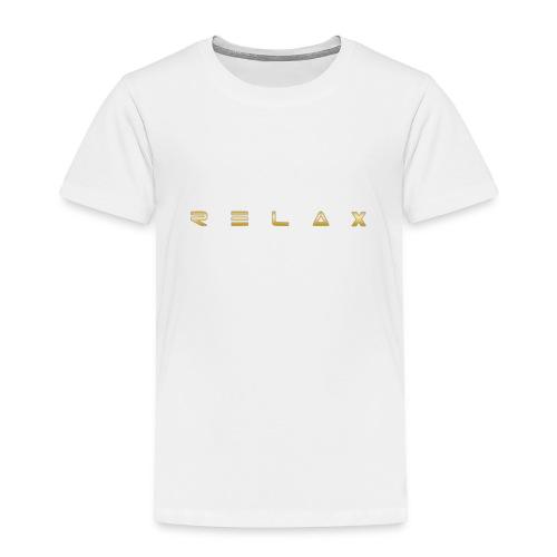 Relax gold - Toddler Premium T-Shirt
