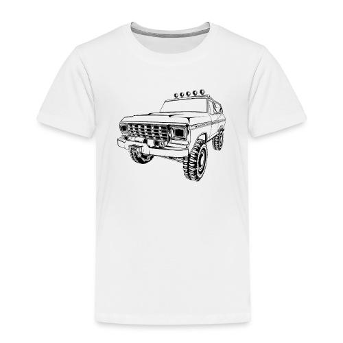 1970 Bronco Truck T-Shirt - Toddler Premium T-Shirt