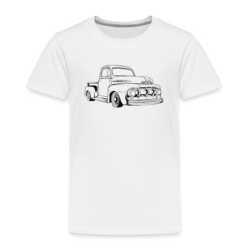 1951 F100 Classic Pickup Truck Men's T-Shirt - Toddler Premium T-Shirt