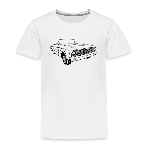 63 Ford Falcon Sprint Conv Men's T-Shirt - Toddler Premium T-Shirt