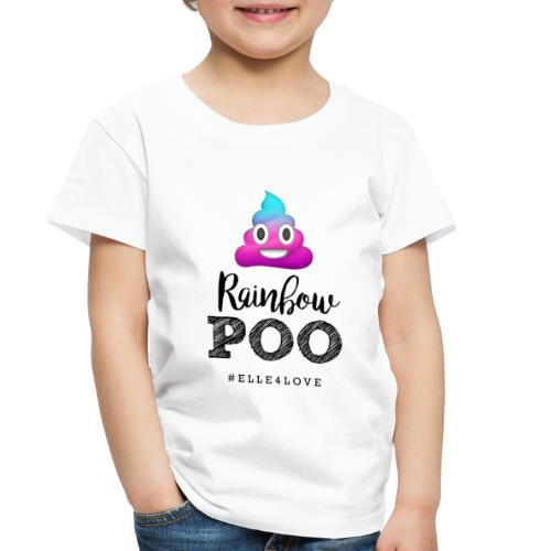 Rainbow Poo - Toddler Premium T-Shirt
