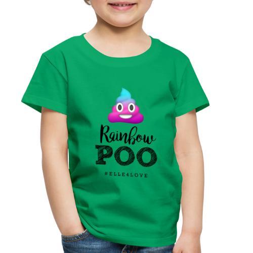 Rainbow Poo - Toddler Premium T-Shirt
