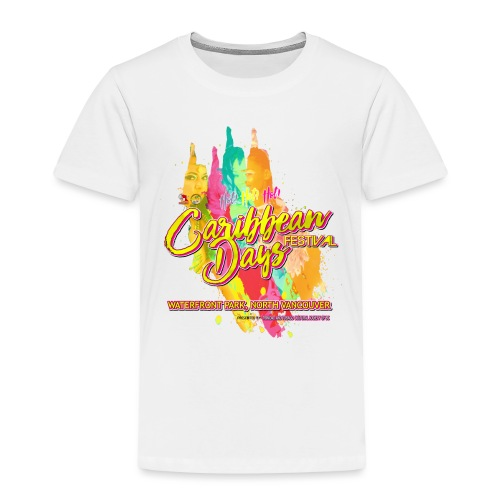 Caribbean Days Festival = Hot! Hot! Hot! - Toddler Premium T-Shirt