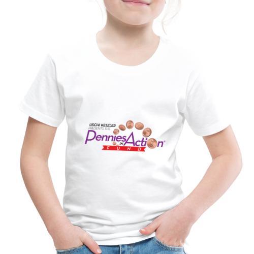 Pennies In Action Logo - Toddler Premium T-Shirt