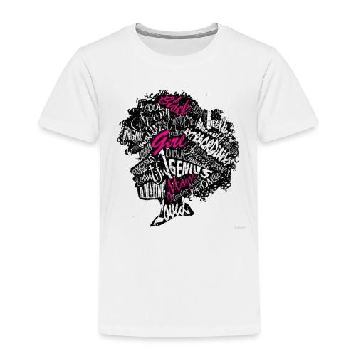 Black girl - Toddler Premium T-Shirt