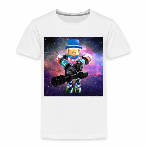 sean roblox character with minigun - Toddler Premium T-Shirt