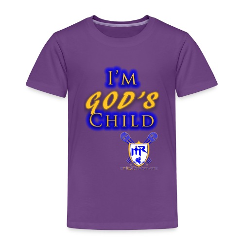 God s Child T - Toddler Premium T-Shirt