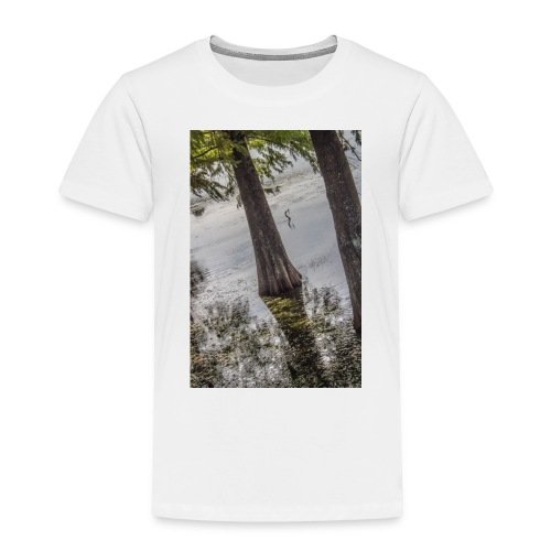 LAKE BIRD - Toddler Premium T-Shirt