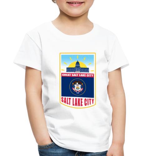 Utah - Salt Lake City - Toddler Premium T-Shirt