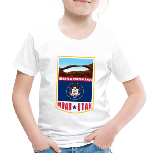 Utah - Moab, Arches & Canyonlands - Toddler Premium T-Shirt