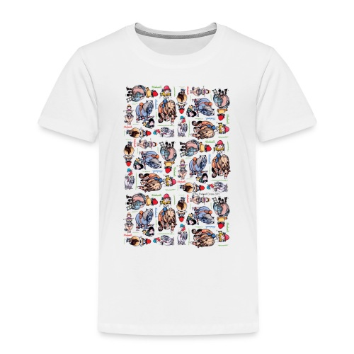 PonyCartoons Thelwell Cartoon - Toddler Premium T-Shirt