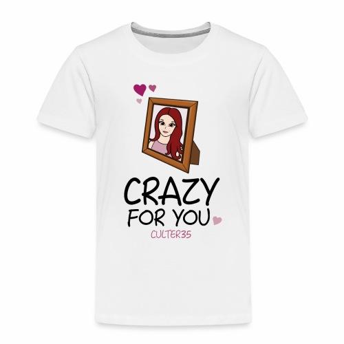 Crazy For Ariana - Toddler Premium T-Shirt
