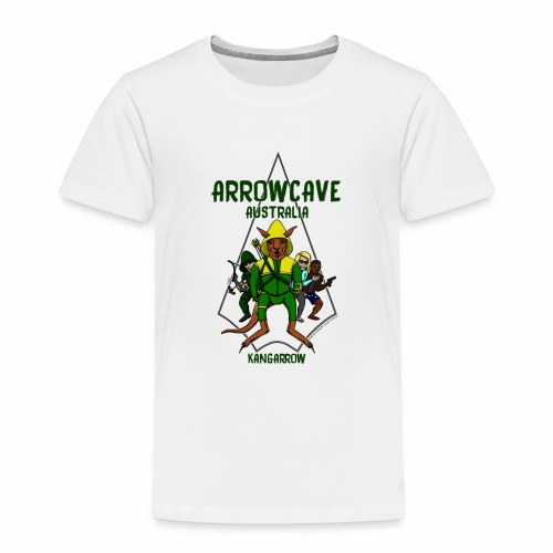 Arrow Cave Logo - Toddler Premium T-Shirt