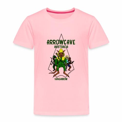 Arrow Cave Logo - Toddler Premium T-Shirt
