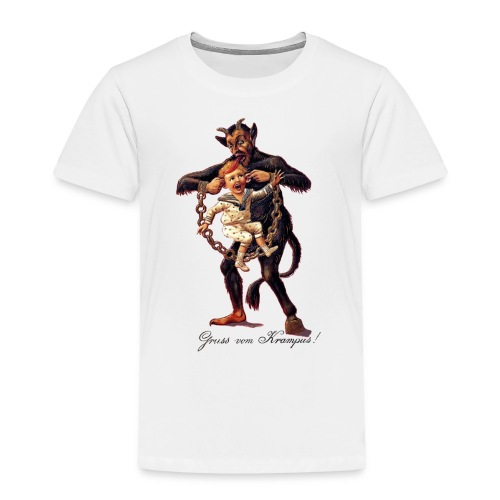 Gruss vom (Greetings From) Krampus - Toddler Premium T-Shirt
