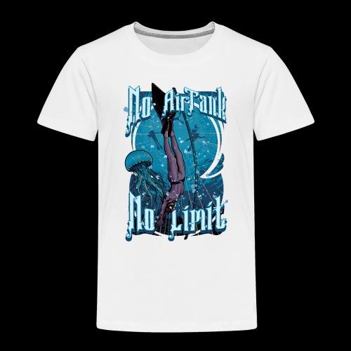 No Air Tank No Limit Freediving merchandise - Toddler Premium T-Shirt