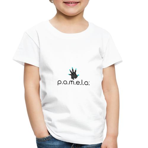 P.A.M.E.L.A. Logo Black - Toddler Premium T-Shirt