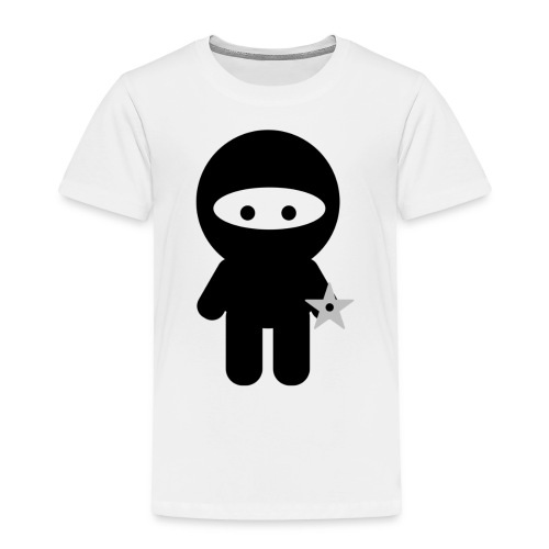 Ninja Boy - Kids Tee - Toddler Premium T-Shirt