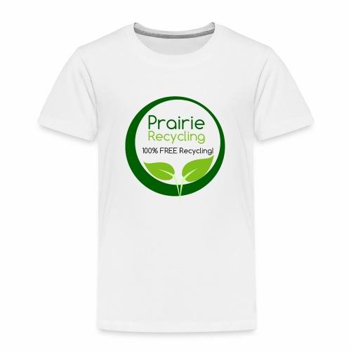 Prairie Recycling Official Logo - Toddler Premium T-Shirt