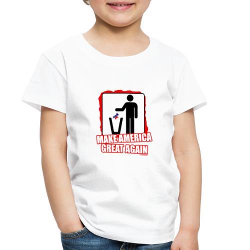MAGA TRASH DEMS - Toddler Premium T-Shirt