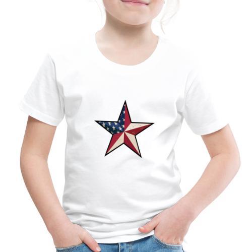 American Patriot Barn Star - Toddler Premium T-Shirt