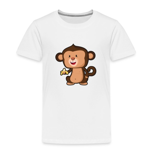 Baby Monkey - Toddler Premium T-Shirt