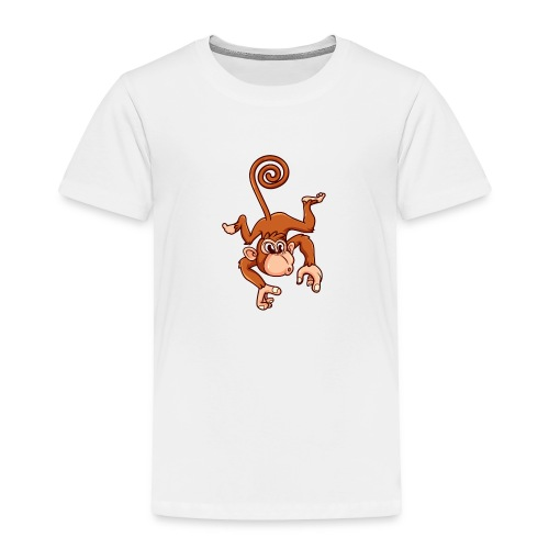Cheeky Monkey - Toddler Premium T-Shirt