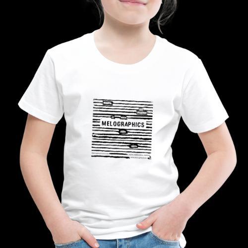 MELOGRAPHICS | Blackout Poem - Toddler Premium T-Shirt