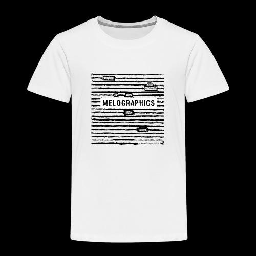 MELOGRAPHICS   Blackout Poem - Toddler Premium T-Shirt