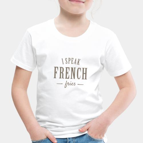 french fries - Toddler Premium T-Shirt