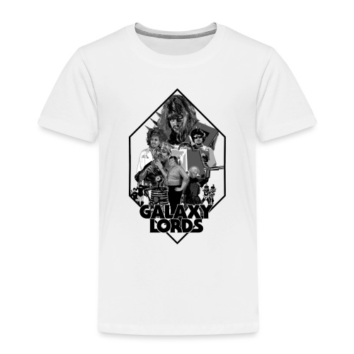 Monochrome Poster Image (Black) - Toddler Premium T-Shirt