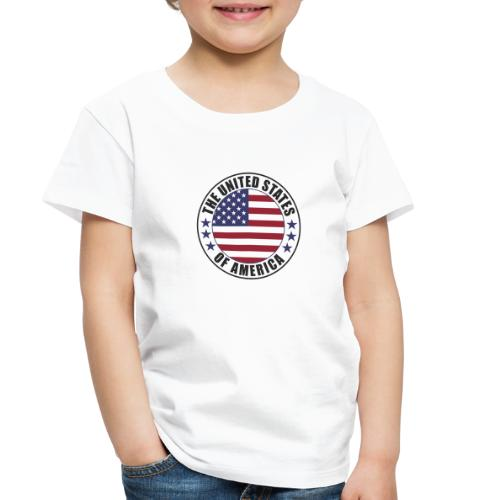 The United States of America - USA - Toddler Premium T-Shirt