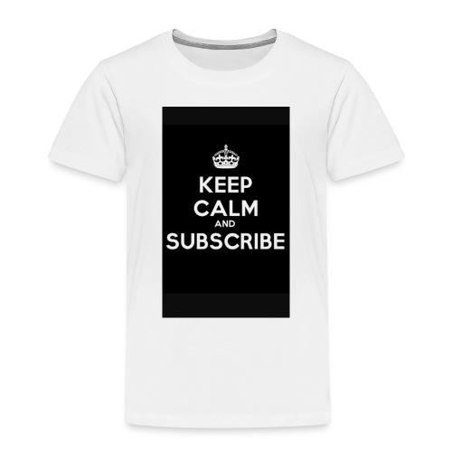 Keep calm merch - Toddler Premium T-Shirt