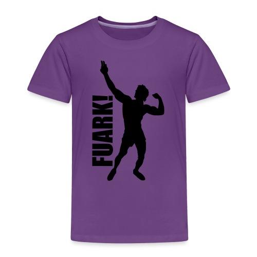 Zyzz Silhouette FUARK - Toddler Premium T-Shirt