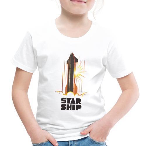 Star Ship Mars - Light - Toddler Premium T-Shirt