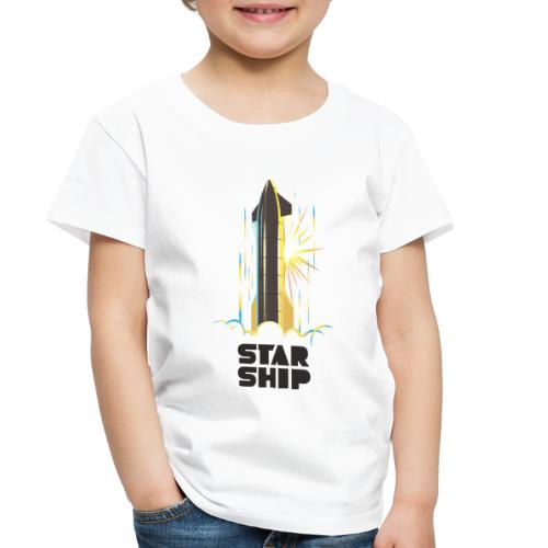 Star Ship Earth - Light - Toddler Premium T-Shirt
