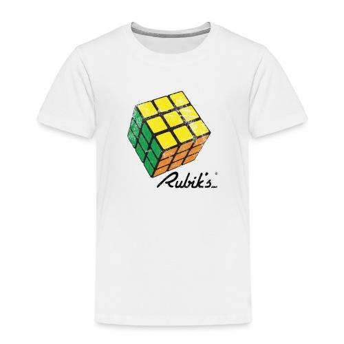 Rubik's Cube Solved Colourful Vintage - Toddler Premium T-Shirt