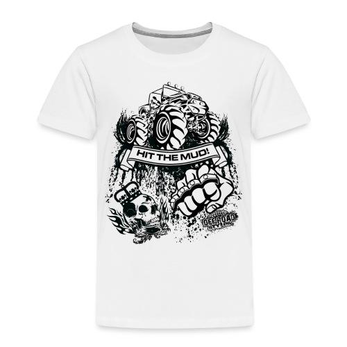 Mudding Jeep Shirt - Toddler Premium T-Shirt