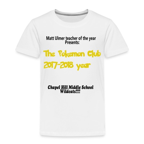 ulmer club - Toddler Premium T-Shirt
