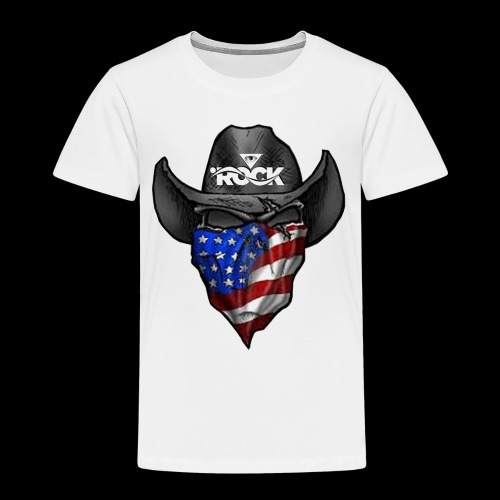 Eye rock cowboy Design - Toddler Premium T-Shirt