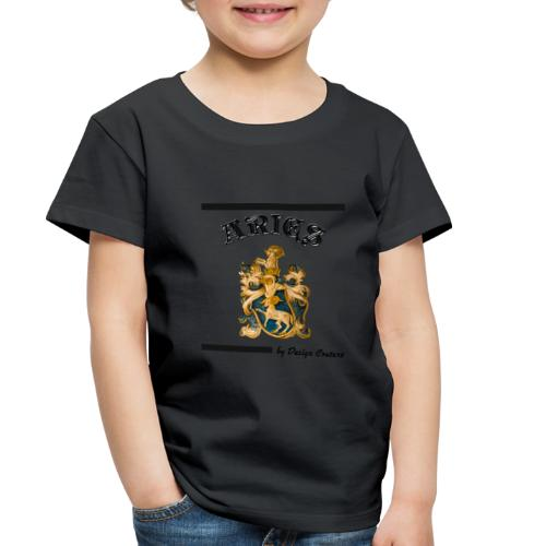 ARIES BLACK - Toddler Premium T-Shirt