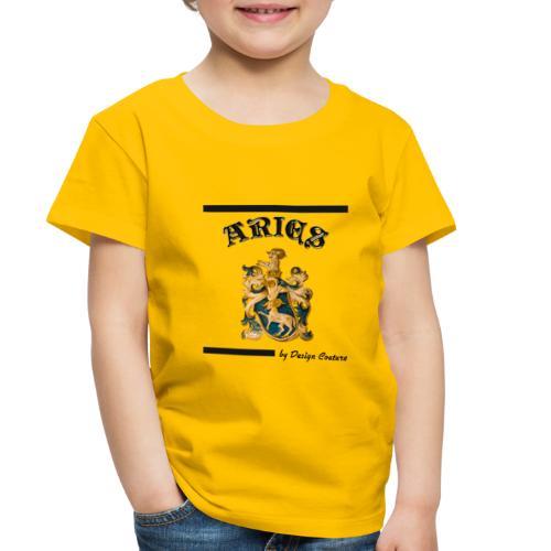 ARIES BLACK - Toddler Premium T-Shirt