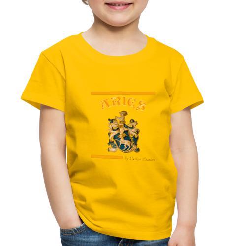 ARIES ORANGE - Toddler Premium T-Shirt