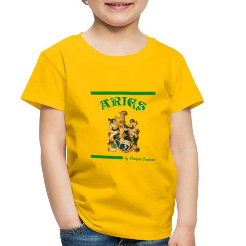 ARIES GREEN - Toddler Premium T-Shirt