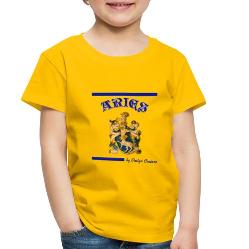 ARIES BLUE - Toddler Premium T-Shirt