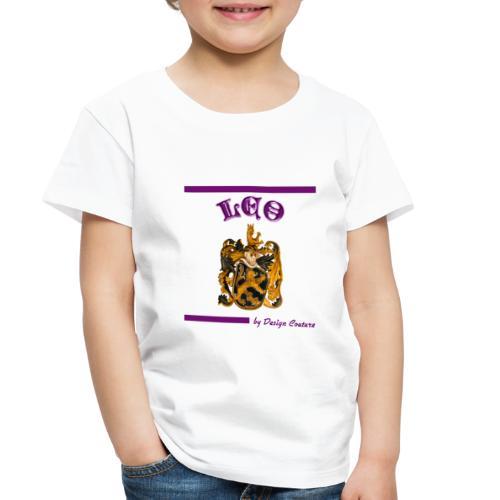 LEO PURPLE - Toddler Premium T-Shirt